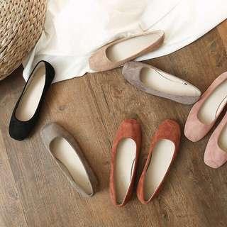 現貨35號🙌柔軟顯白芭蕾舞平底鞋 紅色*1