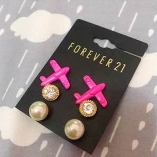 🚚 Forever 21 耳環組