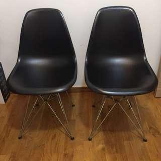 Eames Chair Steel Eiffel