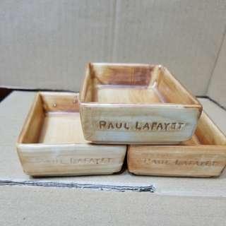 Paul Lafayet 長方型甜品碟仔