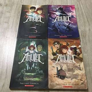 Amulet Graphic Novels Comics (preloved)
