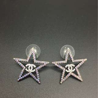 Chanel Star line Stone earrings - Chanel 耳環