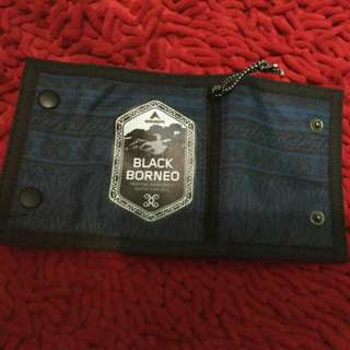 Black borneo wallet
