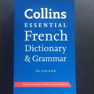 Collins Essential French Dictionary & Grammar in Colour