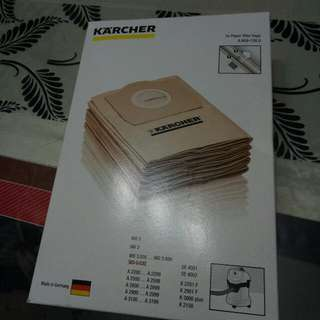 New Filter Bags For Karcher Vacuum Cleaner