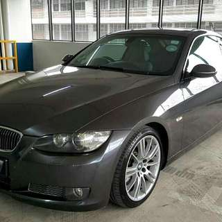 BMW E92 335i Coupe 3.0L Inline 6 N54 Twin Turbo Engine Paddle shift Auto Transmission  2008 Sunroof Status : 🇸🇬( S'PORE )  Excellent Condition   For Spare Parts Or Track Use.   Interested Click 👇 (CHAT)