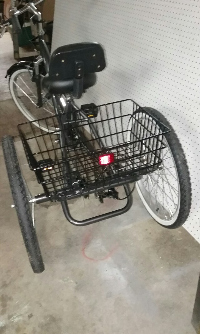 (1) Rock Point 2400 7-speed Comfort Adult Tricycle
