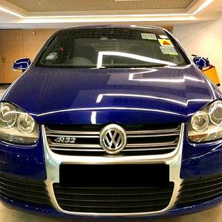 Volkswagen Golf R32 2008 Powerpacked 3.2L V6 Engine - 245bhp 4 Wheel Drive Status : 🇸🇬 ( S'PORE )  Excellent Condition   For Spare Parts Or Track Use.   Interested Pls Click 👇 ( CHAT )