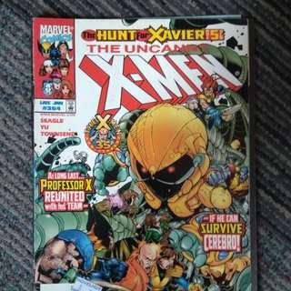 The Uncanny X-MEN comic book