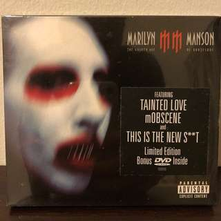 MARILYN MANSON THE GOLDEN AGE OF GROTESQUE LIMITED EDITION SLIPCASE BOXSET CD + BONUS DVD