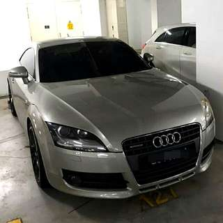 Audi TT TFSI Quattro  2.0L Turbocharged TFSI Engine 6 Speed Auto S-Tronic Gearbox 2008 Sports Rim Status : 🇸🇬( S'PORE )  Excellent Condition  For Spare Parts Or Track Use.   Interested Click 👇 (CHAT)