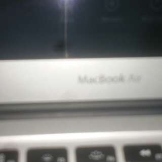 Mac book air laptop