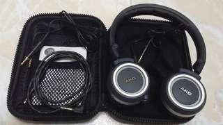 AKG K450 Headphone送升級線一條