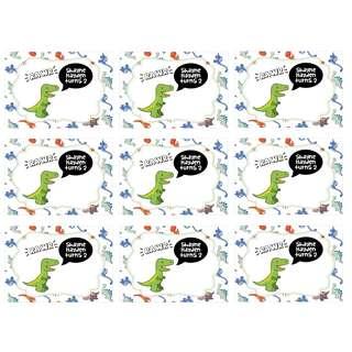 Sticker Label - Dinosaur