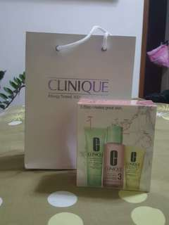 BRAND-NEW Clinique 3-Step Skincare System