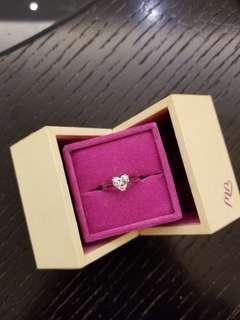 GIA 心形鑽石1.05 ct, E SI1 , 高色 , 超值價!