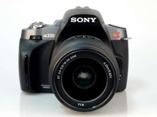 DSLR sony Alpha 330