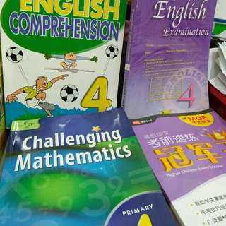4 X assessment books primary 4