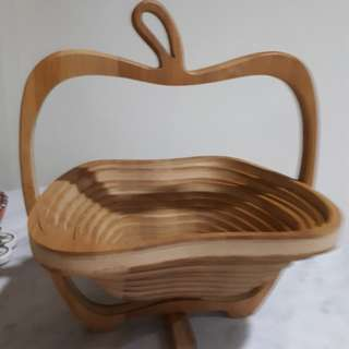 Collapsible Apple Shape Basket