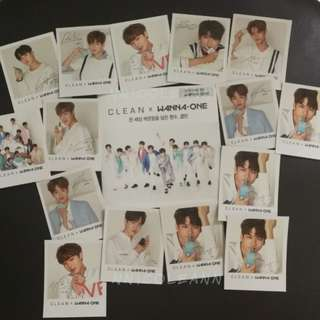 Wanna One Clean Polaroid