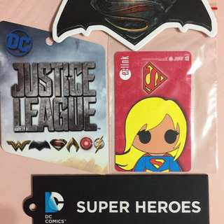 Limited Edition DC Comics Super Girl Design ezlink Card For $16.