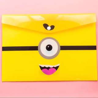 Minions A4 File for Children & Adults for All Occasions