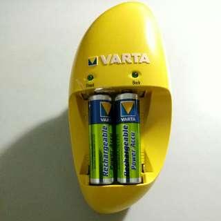 Varta rechargeable batteries