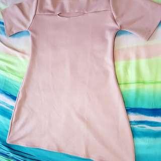 Blush A-Line Skirt Dress