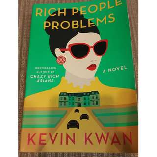 BRAND NEW- ENGLISH EDITION RICH PEOPLE PROBLEMS