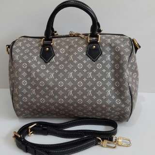 2011 LV Minilin, DC: MB1611 comes woth long strap only, no dust bag (30×17×20cm)-yv35