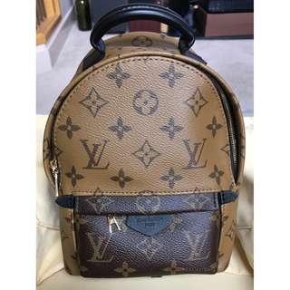 米蘭直送 Louis Vuitton Palm Springs Backpack Mini - Reverse Monogram 迷您背包