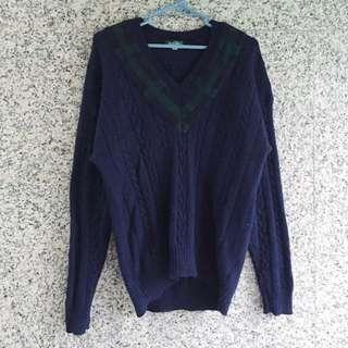 🚚 /古著降價/ - 厚磅立體織紋毛衣
