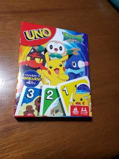 UNO Pokemon Card Game (Brand New from Japan)