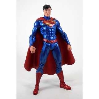 DC New 52 Superman Action Figure (Metallic Blue variant)