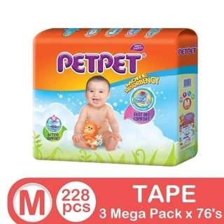 Petpet Mega Pack M76 (3 pack)