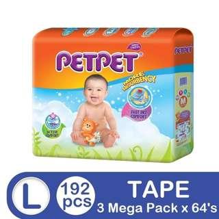 Petpet Mega Pack L64 (3 pack)