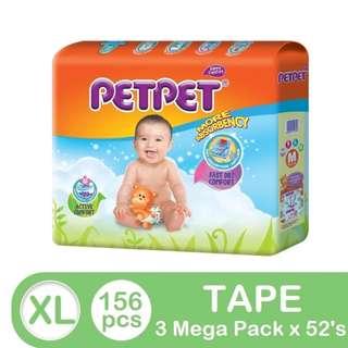 Petpet Mega Pack XL52 (3 pack)