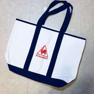 100%全新 Le Coq Sportif 公雞牌特大Tote Bag旅行袋