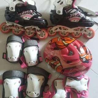 FULL SET of Rollerblading Items