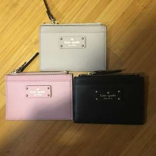 Kate Spade card n coin holder