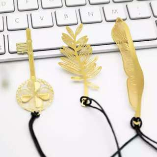 Gold Bookmarks