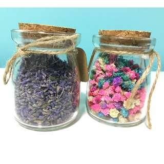 [IN STOCK] Dried flowers in bottles