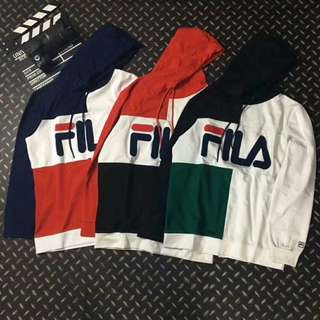 Fila Japan Multicolour/Multicoloured Hoodie/Hood
