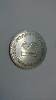 Duit syiling / old coin $1 1972