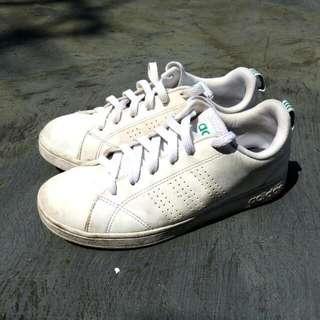 Jual Apa Adanya - Adidas Neo White (ORI MADE IN INDONESIA)