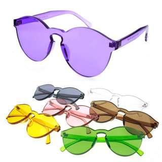 kacamata jelly transparan