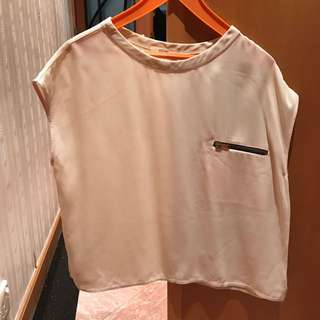 Celine Silk Top Classic Size 36 Size Small Chanel Dior LV Hermes Gucci