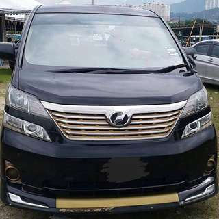 SAMBUNG BAYAR  TOYOTA VELLFIRE 2.4  TAHUN 2008/2013 BULANAN RM 2200 BAKI 4 TAHUN ROADTAX HIDUP PUSH START BUTTON 1POWER DOOR 1POWER BOOT 8 SEATER REVERSE CAMERA DVD PLAYER TIPTOP CONDITION  DP KLIK wasap.my/60133524312/vellfire
