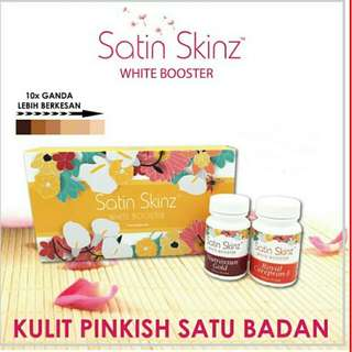 Best Selling Satin Skinz White Booster