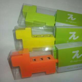 Design Pie 狗狗USB分插器(1開3)